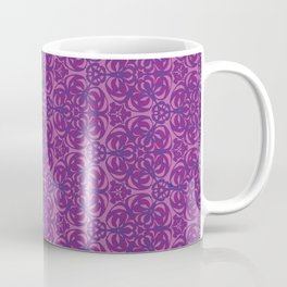Raspberry Grape Blooms Coffee Mug
