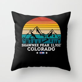 SHAWNEE PEAK Colorado Throw Pillow