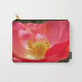 Poppin' Poppy Carry-All Pouch