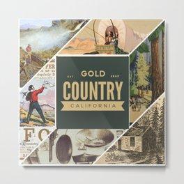 Gold Country California Metal Print