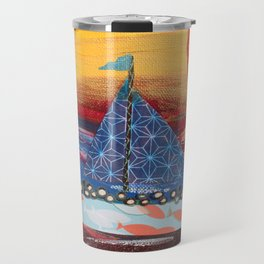 Pilgrims Journey Travel Mug