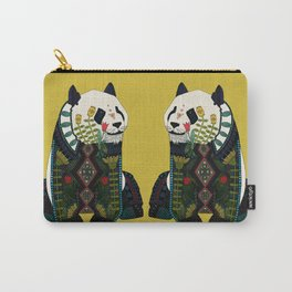 panda ochre Carry-All Pouch