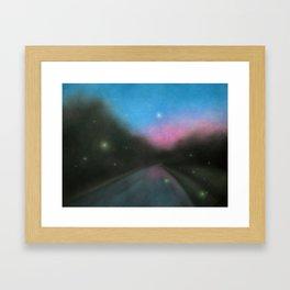Chasing Summer Framed Art Print