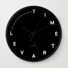 Timetravel Wall Clock Wall Clock