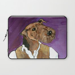 Best dressed Airedale Laptop Sleeve