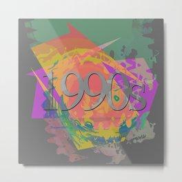 1990s Metal Print