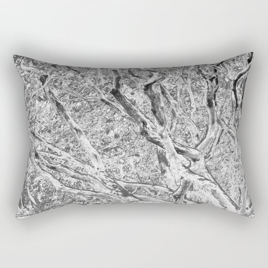 TWISTING BRANCHES Rectangular Pillow