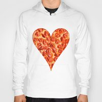 pizza Hoodies featuring PIZZA by Good Sense