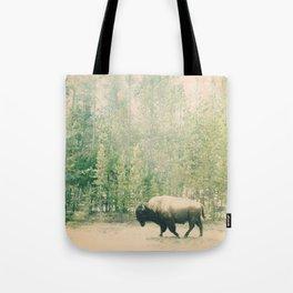 bison I Tote Bag