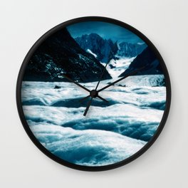 ENDLESS ICE #1 - Alps Wall Clock