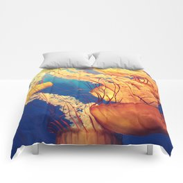 Blue and Yellow Comforters