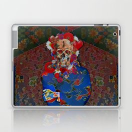 Skull Flower Power Immigrant Laptop & iPad Skin
