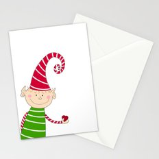 Christmas Elf  Stationery Cards