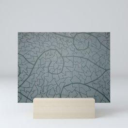 mosaic waves Mini Art Print