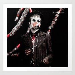 The time tentacles killer Art Print
