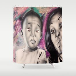 Beautiful Human Shower Curtain