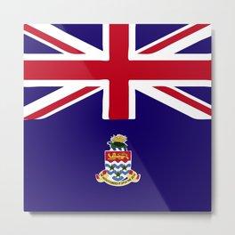 Cayman Island flag emblem Metal Print