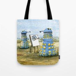 Dalek Painting Tote Bag