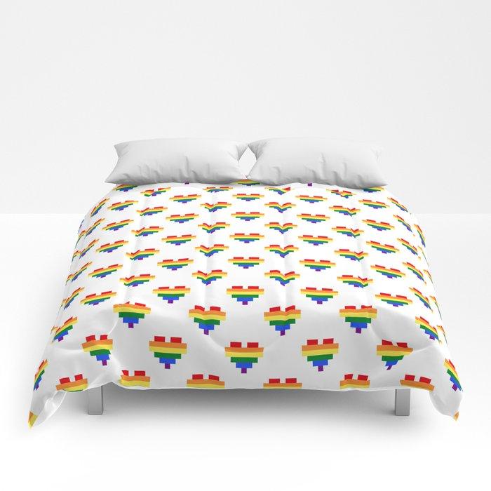 LGBT Heart Comforters