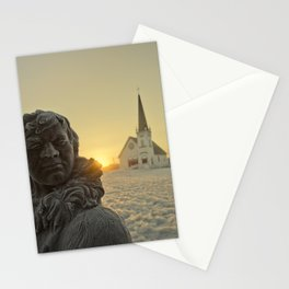 Sunrise in Nome, Alaska Stationery Cards