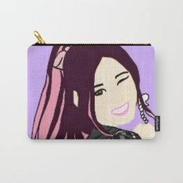 Knock Knock! Sana Purple Carry-All Pouch