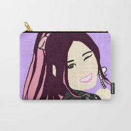 Knock Knock! Sana Purple Carry-All Pouch