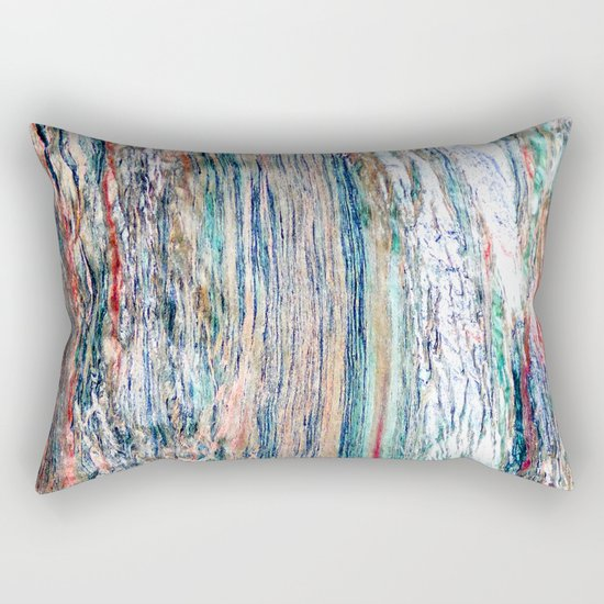 Colorful Mineral Rectangular Pillow
