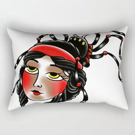 Black widow Rectangular Pillow