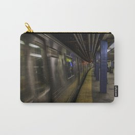 Late night train rides. Carry-All Pouch