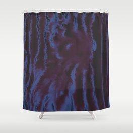 faux tie-dye Shower Curtain