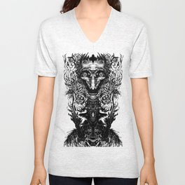 Test your Mind (t-shirt) Unisex V-Neck