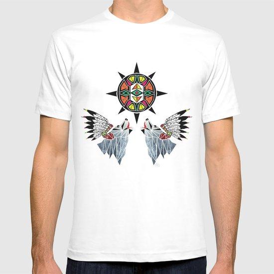wolf king T-shirt
