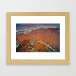 Untitled (Aiguille Rouge) Framed Art Print