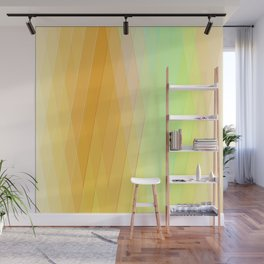 Re-Created Vertices No. 20 by Robert S. Lee Wall Mural