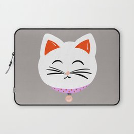 Here Kitty Kitty {grey} Laptop Sleeve