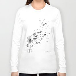If Wishes Were Horses Long Sleeve T-shirt