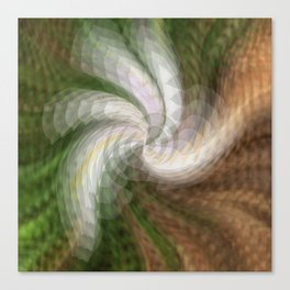 Swirling Softly.... Canvas Print