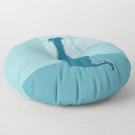 Waiting Greyhound Floor Pillow