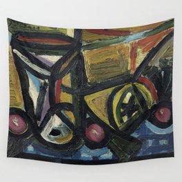 Pablo Picasso Verre et Citron Wall Tapestry