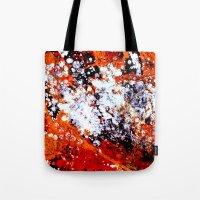 batik Tote Bags featuring batik by ifcha