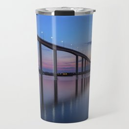 The Jordan Bridge at Twilight Travel Mug