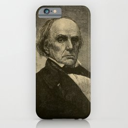 A.C. Thomas - A History of the United States (1900) - Congressman Daniel Webster iPhone Case