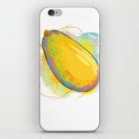 vietnam iPhone & iPod Skins featuring Vietnam Papaya by Vietnam T-shirt Project