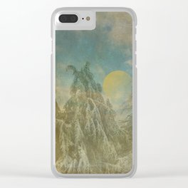 Epic Winter Clear iPhone Case