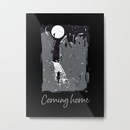 Coming Home (Old Town) Metal Print