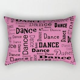 Just Dance - Pink Rectangular Pillow
