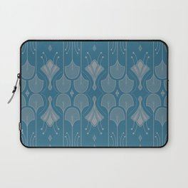 Art Deco Botanical Shapes Laptop Sleeve