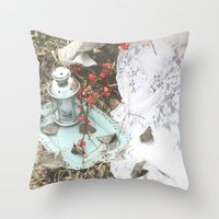 lanterns Throw Pillows featuring Lanterns by JennaMarie