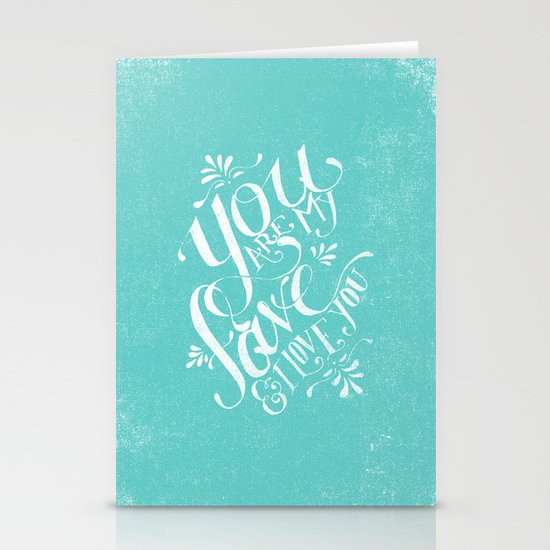 YOU ARE MY FAVE... Stationery Cards