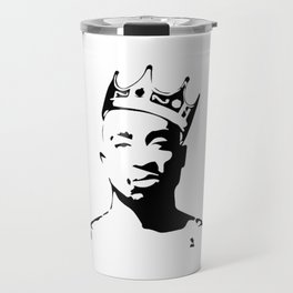 PORTRAIT OF THE BEST RAPPER OF ALL TIMES Travel Mug
